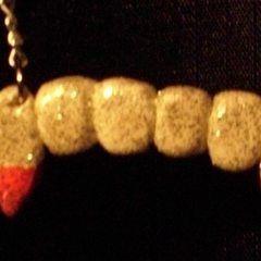 Reversible Vampire Teeth Necklace