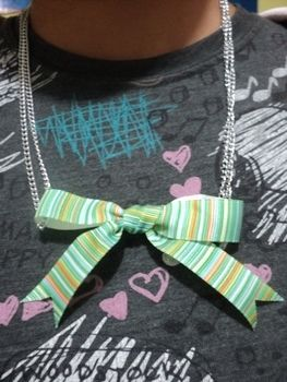 .  Make a bow bracelet in under 20 minutes Version posted by Haruka xz. Difficulty: Simple. Cost: Absolutley free.