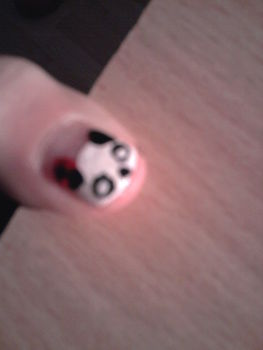 .  Paint an animal nail in under 15 minutes by creating, drawing, and nail painting Inspired by pandas. Version posted by Anceeej. Difficulty: Easy. Cost: No cost.