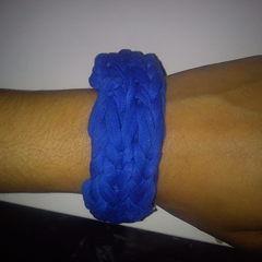 Finger Weave Bracelet