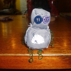 Mini Robot Plushie