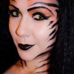 Tiger Goddess Makeup
