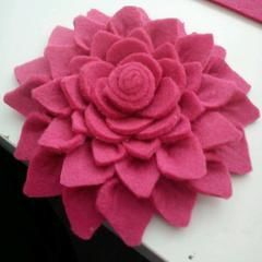 Eco Friendly Felt Brooch