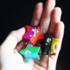Marc Jacobs Inspired Star Hair Clips