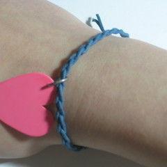 Braided Guitar Pick Bracelet