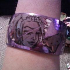 A Modge Podge Artwork Bracelet