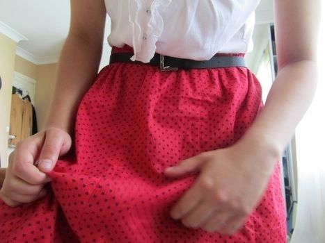 .  Recycle a dress into a skirt in under 180 minutes by needleworking, sewing, and dressmaking Inspired by vintage & retro, hearts, and clothes & accessories. Version posted by Anastasia. Difficulty: Simple. Cost: Absolutley free.