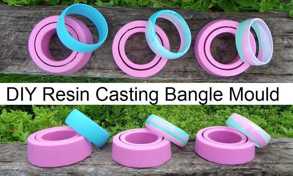 A Simple Way To Create Your Very Own Silicone Bangle Mould D Free Tutorial