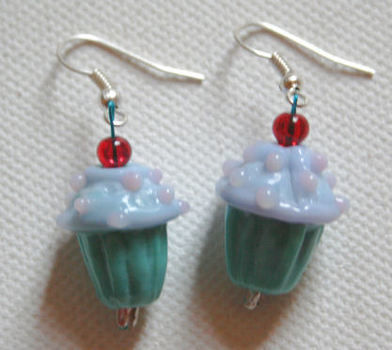 .  Make a pair of clay earring in under 30 minutes by beading and  with jump rings, earring hooks, and pins. Inspired by food and clothes & accessories. Creation posted by . Difficulty: Easy. Cost: Cheap.