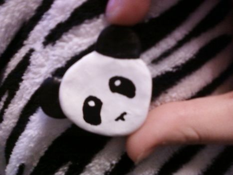 Show some love and Support our pandas <3 .  Sculpt a clay animal brooch in under 30 minutes by jewelrymaking and molding with hot glue gun, polymer clay, and brooch back. Inspired by creatures, vintage & retro, and kawaii. Creation posted by ModernXDayXVaudevillian. Difficulty: Simple. Cost: Cheap.