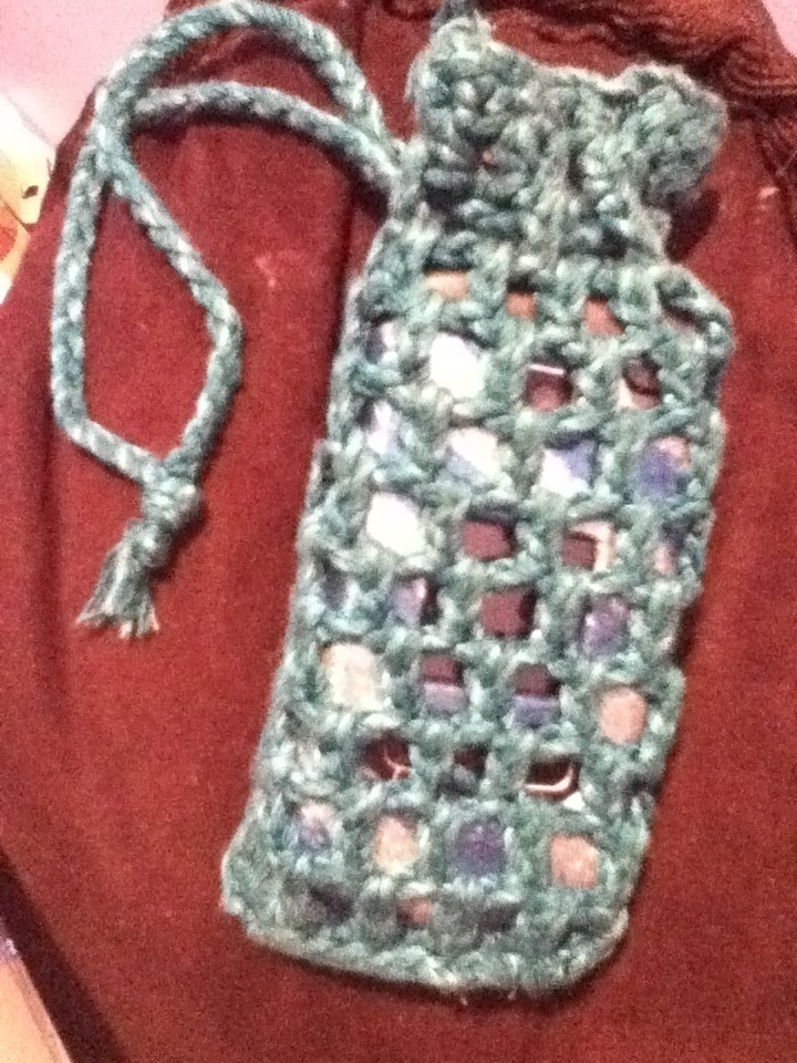 Crochet Cell Phone Case How To Stitch A Knit Or Crochet Pouch