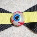 Freaky Eyeball Hair Bow