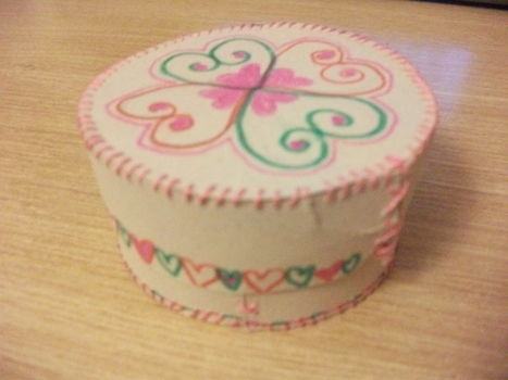 .  Make a recycled box in under 40 minutes by needleworking, embroidering, papercrafting, and sewing Version posted by ellie llama. Difficulty: 3/5. Cost: Cheap.
