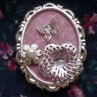 Nail Polish Vintage Pendant