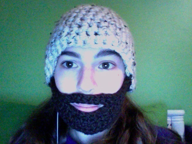70fbdebad0d Lot R  Gimli Crochet Helm And Beard · A Bearded Hat · Yarncraft on ...
