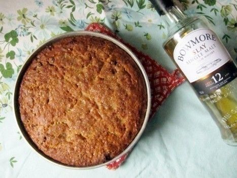 Baking with booze: scotch whiskey oat cake .  Free tutorial with pictures on how to bake a cake in under 60 minutes by baking with butter, salt, and sugar. Recipe posted by Jeannette O. Difficulty: Simple. Cost: Cheap. Steps: 1