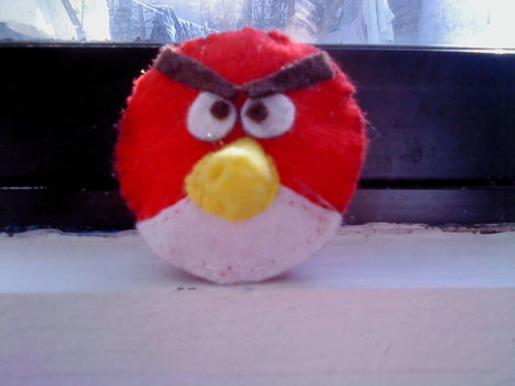 .  Make a bird plushie Inspired by costumes & cosplay, angry birds, and angry birds. Version posted by Gabriela O. Difficulty: 3/5. Cost: Absolutley free.