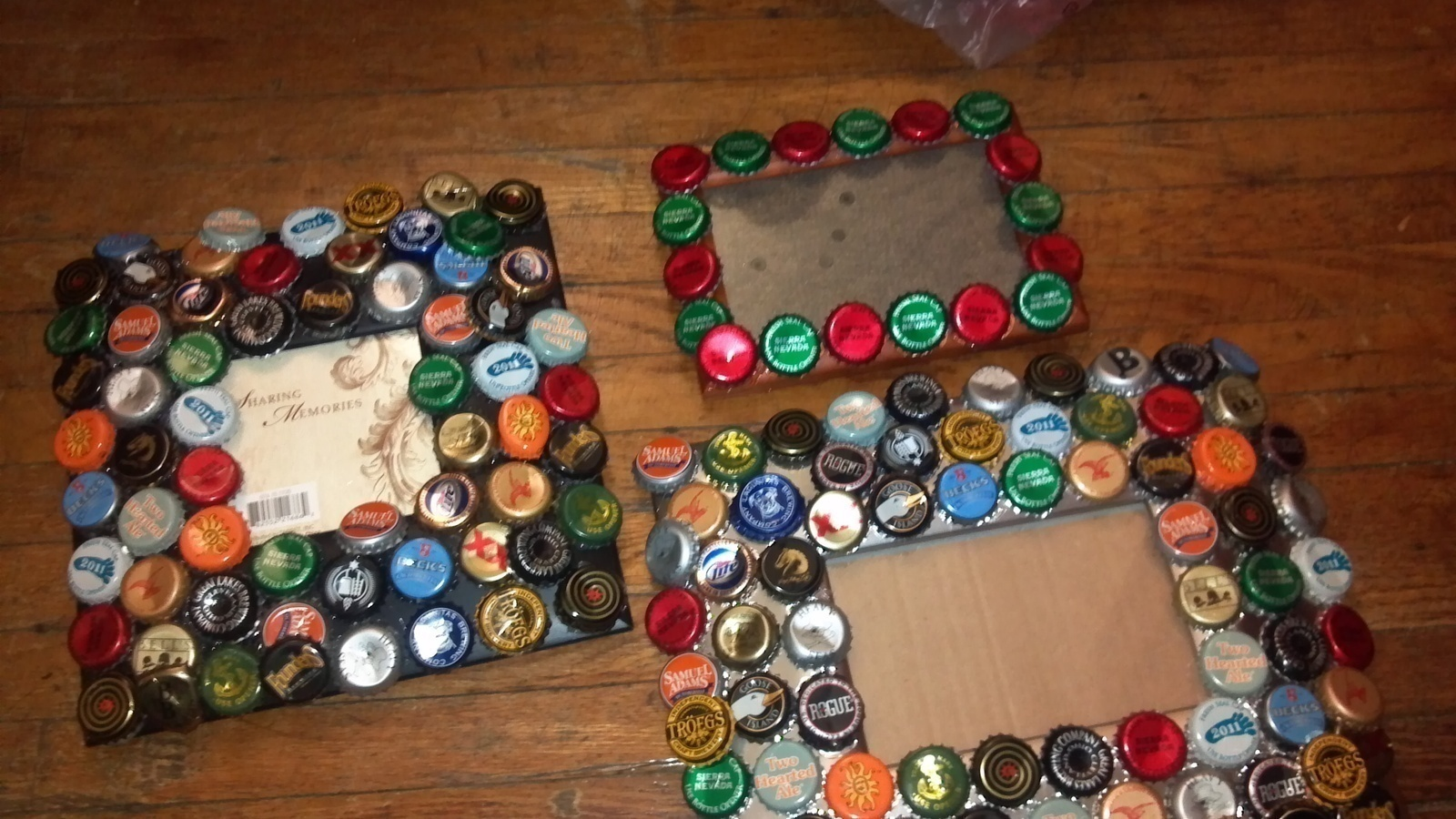 Bottle Cap Picture Frame · How To Decorate An Embellished Photo Frame