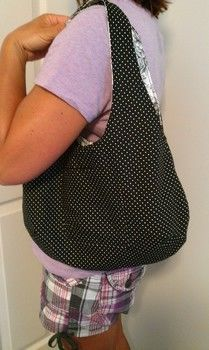 .  Make a reversible tote in under 60 minutes by sewing Version posted by Allison K. Difficulty: Easy. Cost: Cheap.