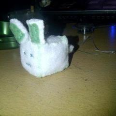 Cubed Bunny Plush