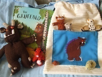 Gruffalo ? A Character Plushie ? Sewing and Knitting on Cut Out + Keep