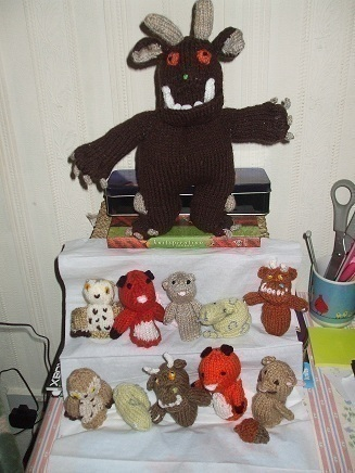 Gruffalo 183 A Character Plushie 183 Sewing And Knitting On