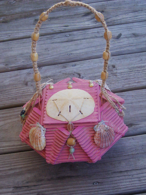Popsicle Stick Purses 183 A Recycled Bag 183 Art Embellishing