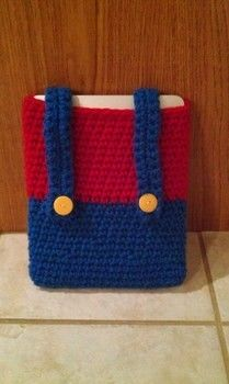 .  Stitch a knit or crochet pouch in under 120 minutes by crocheting Inspired by super mario. Version posted by Allison K. Difficulty: 4/5. Cost: Cheap.