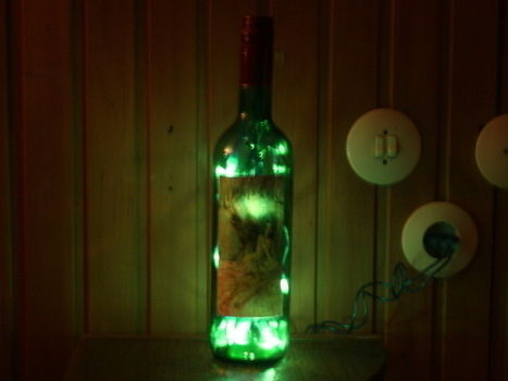 .  Make a bottle lamp in under 10 minutes Version posted by n k. Difficulty: Easy. Cost: Absolutley free.