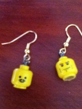 .  Make a pair of Lego earrings in under 10 minutes Inspired by lego. Version posted by Sparkles. Difficulty: Easy. Cost: Absolutley free.