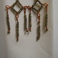 """Copperons""  Earrings"