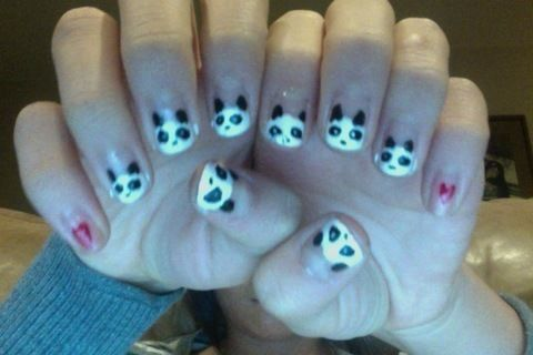 .  Paint an animal nail in under 30 minutes by nail painting and nail painting Inspired by pandas, pandas, and clothes & accessories. Version posted by Sandra L. Difficulty: 3/5. Cost: Absolutley free.