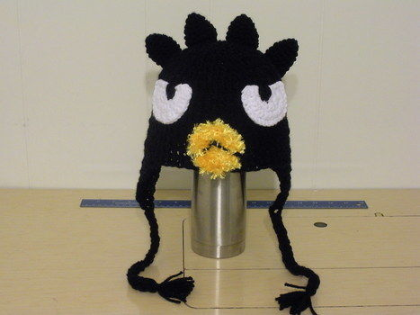 Attitude. I gots it. .  Make an animal hat in under 120 minutes by crocheting with yarn, yarn, and yarn. Inspired by hello kitty, costumes & cosplay, and penguins. Creation posted by kw. Difficulty: Easy. Cost: 3/5.
