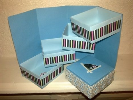 .  Fold a paper explosion box in under 40 minutes by papercrafting, paper folding, and paper folding Inspired by kawaii, flowers, and hearts. Version posted by Libby W. Difficulty: Simple. Cost: Cheap.