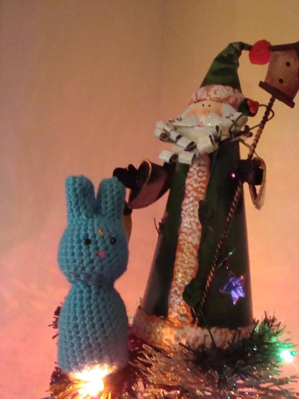 Kokeshi Style Moonbunny Amigurumi ? A Moon Bunny Plushie ...