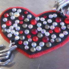 Black Heart Valentine Eyepatch!