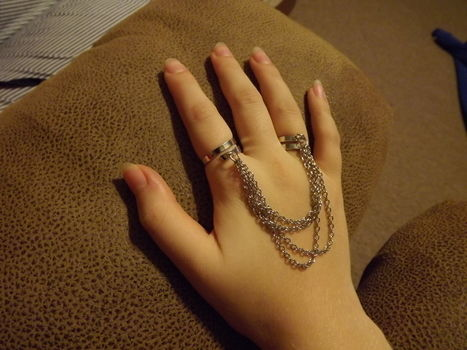 .  Make a chain ring in under 20 minutes by jewelrymaking Inspired by clothes & accessories. Version posted by Jennifer D. Difficulty: Easy. Cost: Cheap.