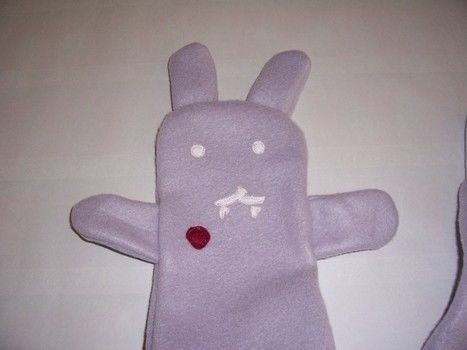 Bunnicula would be proud .  Make an animal scarf in under 60 minutes by sewing with sewing machine, sewing machine, and sewing needle. Inspired by kawaii and clothes & accessories. Creation posted by veemignon. Difficulty: Simple. Cost: Cheap.