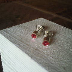 Tiny Glitter Studs