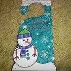 Winter Wonderland Door Hanger