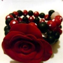 Rockabilly Rose Bracelet