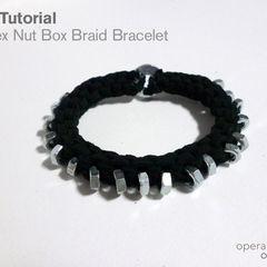 Hex Nut Box Braid Bracelet