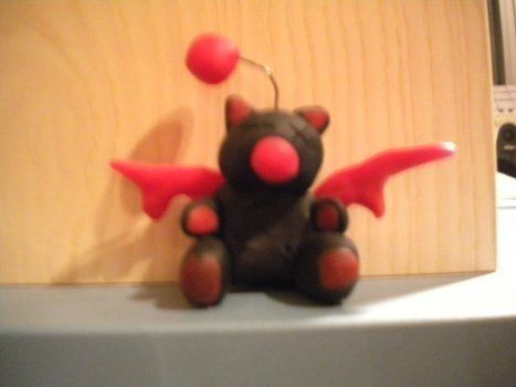 Made with fimo .  Mold a clay animal in under 120 minutes by baking, molding, and potting with polymer clay. Inspired by creatures, gothic, and costumes & cosplay. Creation posted by Kitiara.  in the Decorating section Difficulty: 3/5. Cost: Absolutley free.
