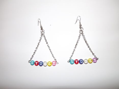 Nifty earrings .  Make a pair of chandelier earrings in under 20 minutes by jewelrymaking with jump rings, chain, and earring hooks. Inspired by clothes & accessories. Creation posted by Jennifer D. Difficulty: Easy. Cost: Cheap.