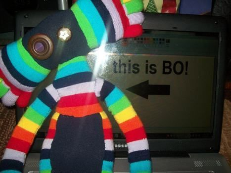 This is my new friend, Bo! short for Rainbow :D .  Make a food plushie in under 120 minutes by sewing with felt and socks. Inspired by domo kun, domo kun, and domo kun. Creation posted by Sparklesaurus Rex. Difficulty: Simple. Cost: No cost.