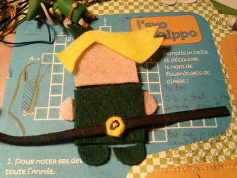 Link from Legend of Zelda .  Make an elf plushie in under 30 minutes by creating and needlepointing with tissues. Inspired by legend of zelda and kawaii. Creation posted by Horkidelo. Difficulty: Easy. Cost: No cost.