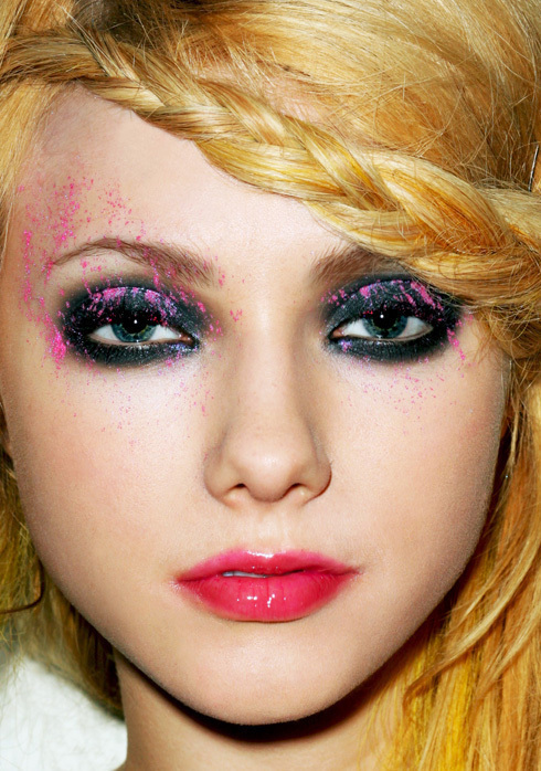 Miss Reckless 183 How To Create An Animal Print Eye Makeup