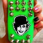 The Adict Studded Phone Case