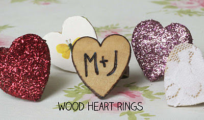 Make some wood burned rings for Valentines Day!   .  Free tutorial with pictures on how to make a wooden ring in under 30 minutes by woodworking with wood, ring base, and wood burner. Inspired by wallace & gromit. How To posted by maize hutton. Difficulty: Simple. Cost: Absolutley free. Steps: 2