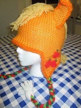 Friendship is Magic, y'all! .  Make a character hat by sewing and crocheting with crochet hook and acrylic yarn. Inspired by creatures, costumes & cosplay, and my little pony. Creation posted by Biblohip. Difficulty: 4/5. Cost: Cheap.